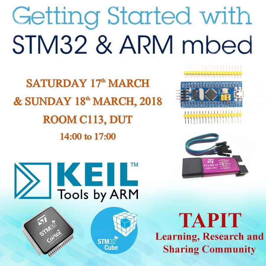 Buổi Training ARM STM32 tại Đà Nẵng - TAPIT