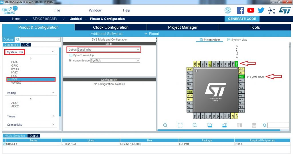 Real time clock (RTC) trên STM32F103C8T6 - TAPIT