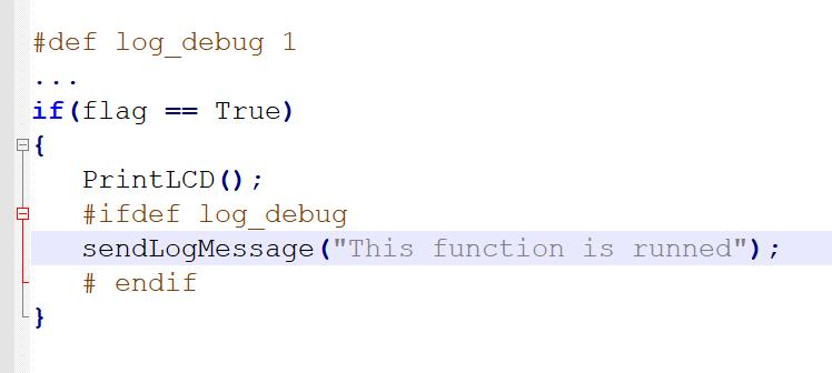 Debug sử dụng log trong lập trình nhúng