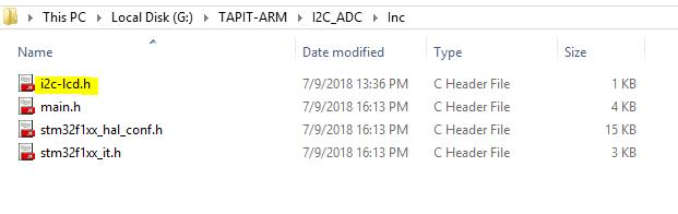 Giao tiếp STM32F103C8T6 với LCD 16x2 thông qua moudle I2C