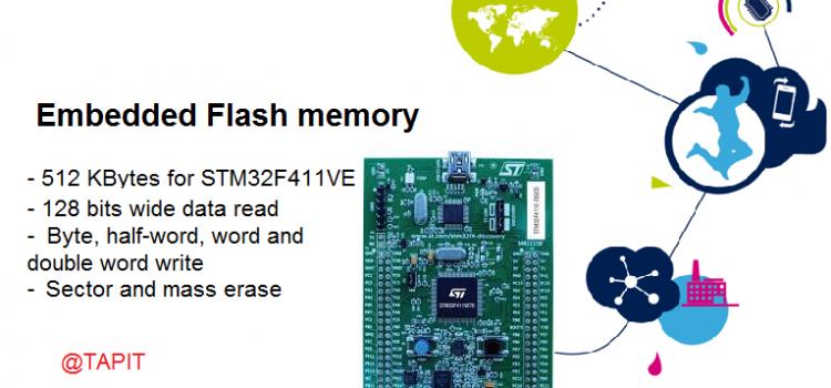 Tổ chức bộ nhớ Flash trên chip STM32F411VE