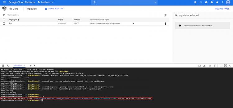 Xây dựng hệ thống Internet of Thing sử dụng nền tảng Google Cloud IoT Core (P2)